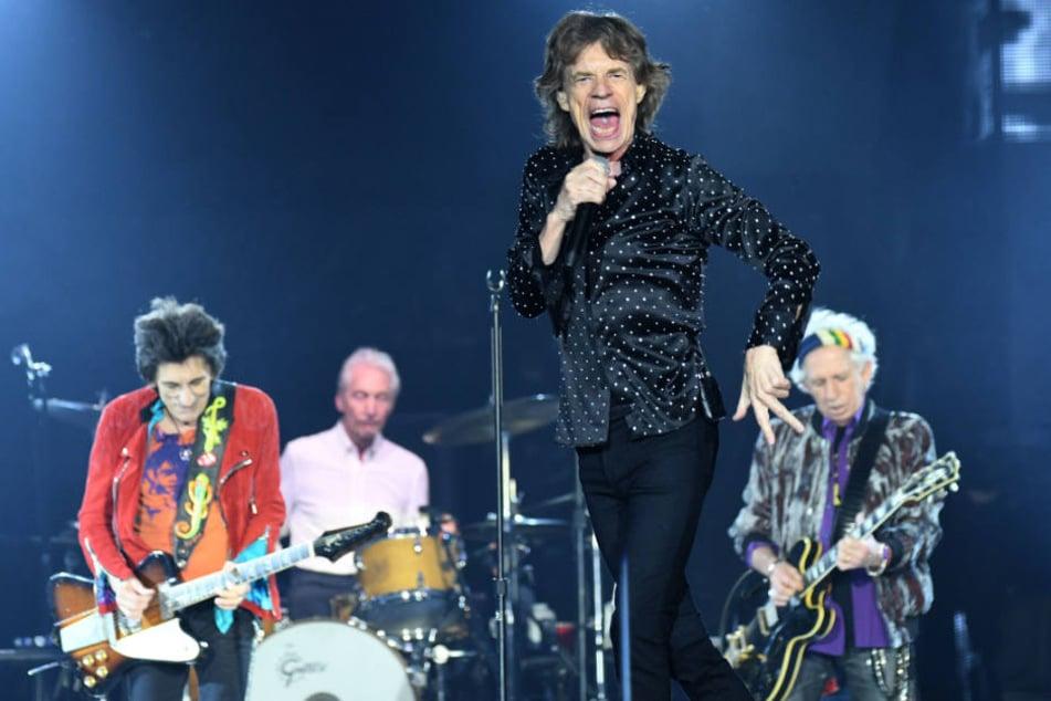 Unter 183 Euro kriegt man derzeit keine Karten mehr für die Rocker um Frontmann Mick Jagger (2.v.r.). (Archivbild)