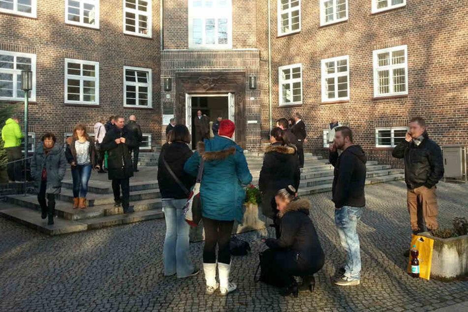 Das Chemnitzer Landgericht wurde evakuiert.