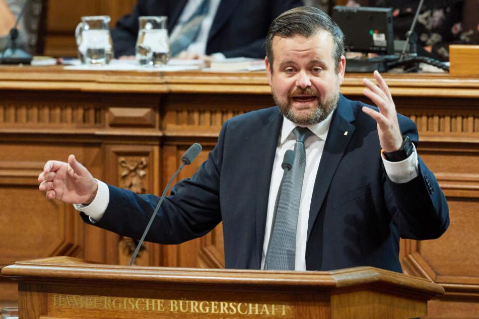 André Trepoll ist CDU-Fraktionschef in der Hamburgischen Bürgerschaft.