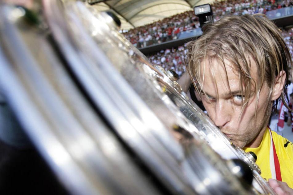 Timo Hildebrand wurde 2007 mit dem VfB Stuttgart deutscher Meister.