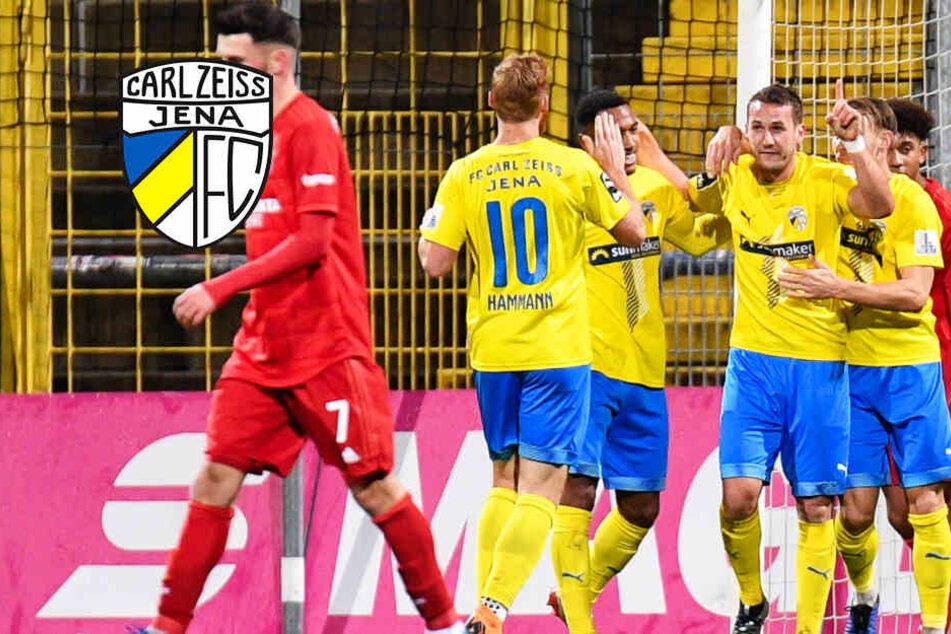 Endlich! FC Carl Zeiss Jena feiert ersten Auswärtssieg der Saison beim FC Bayern II