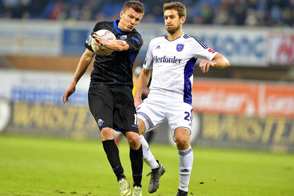 Am Ende war es viel Kampf, doch die Paderborner hielten das 3:1 und überwintern, wie erhofft, über der Abstiegs-Linie.