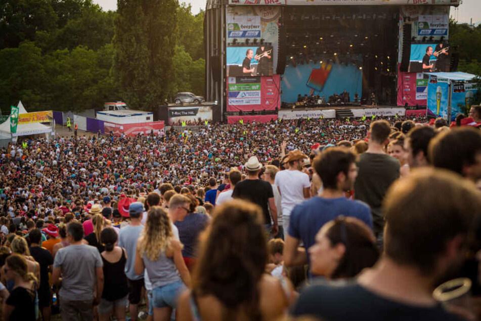 """250.000 Musik-Fans erwartet: So lief die Eröffnung des """"Fests"""""""