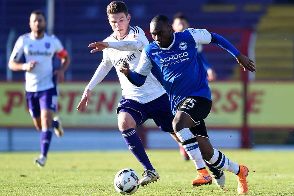 Gegen VfL Osnabrück avancierte Reinhold Yabo (24) schon zum Matchwinner der Arminia.