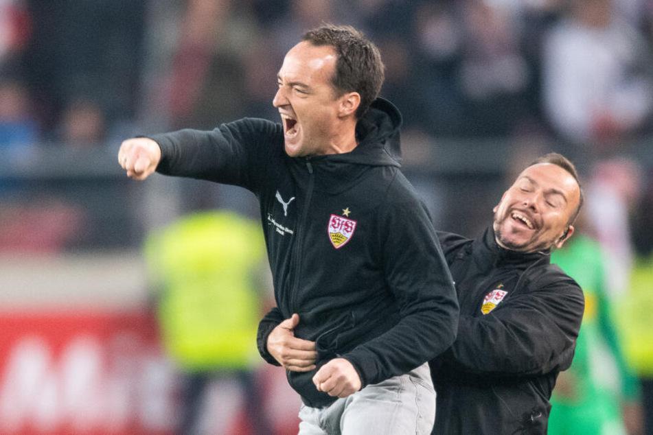 Wurde als Interimstrainer beim VFfB Stuttgart eingesetzt und feierte bei seinem Debüt einen 1:0-Sieg gegen Gladbach: Nico Willig.