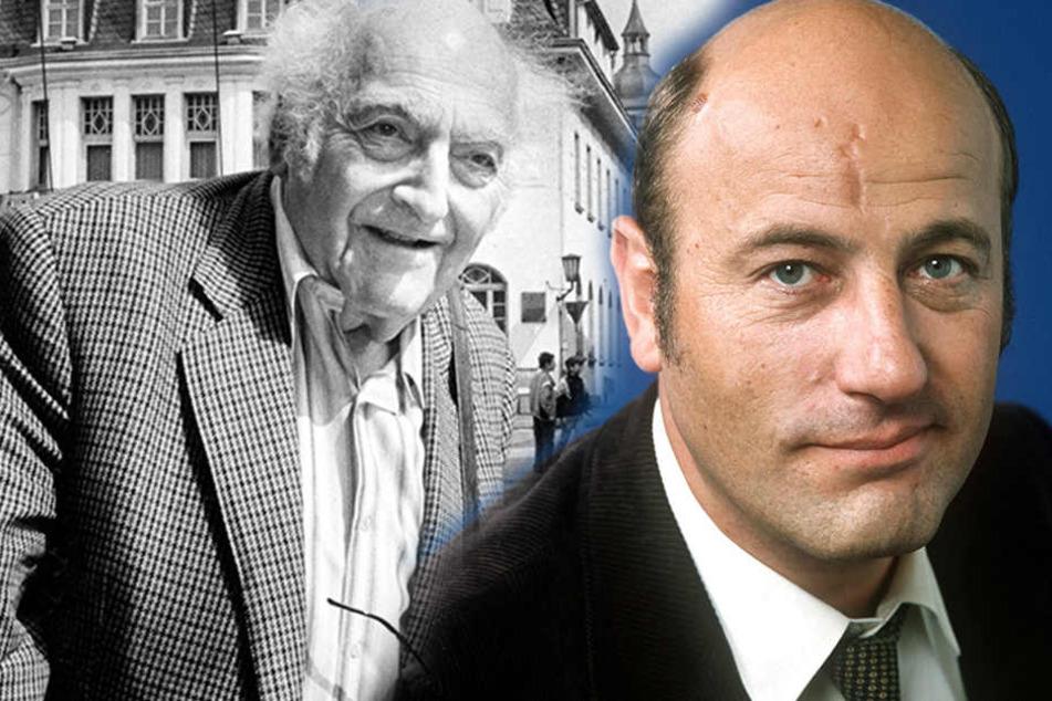 Historischer Handschlag am 9. November: So endete der Zoff von Manfred Krug und Autor Heym