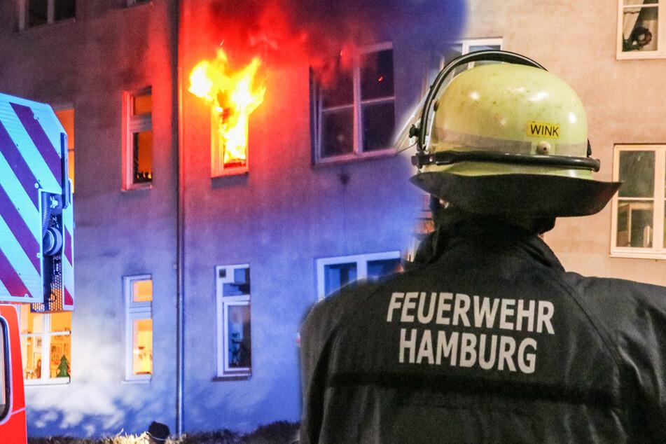 Adventskranz vergessen: Wohnung steht lichterloh in Flammen
