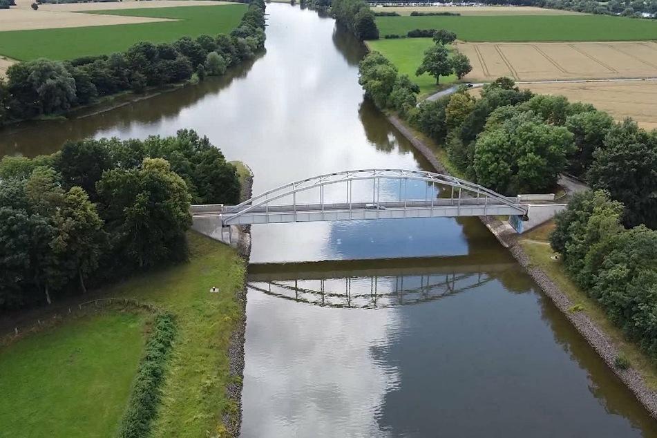 Die Weser bei Balge: An dieser Stelle wurde Ende April die Leiche entdeckt.