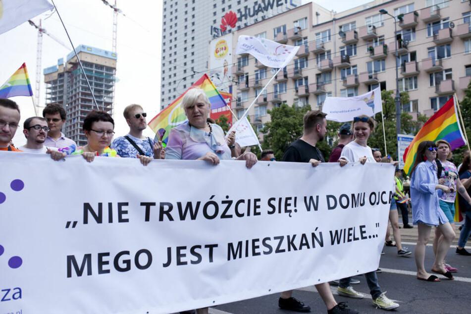 """""""Lesben- und schwulenfreie Zonen"""" in polnischen Partnerstädten: Das unternehmen Berliner Bezirke"""