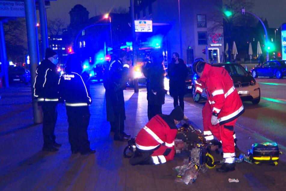 Schwerer Unfall auf St. Pauli: Fußgänger von Auto erfasst