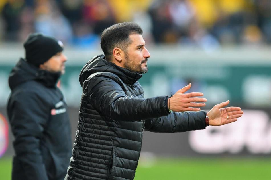 Den Kontakt mit seinem Vorgänger Cristian Fiel (r.) hat Markus Kauczinski nicht gesucht. Ein Treffen wäre aus Sicht des neuen Trainers kontraproduktiv gewesen.