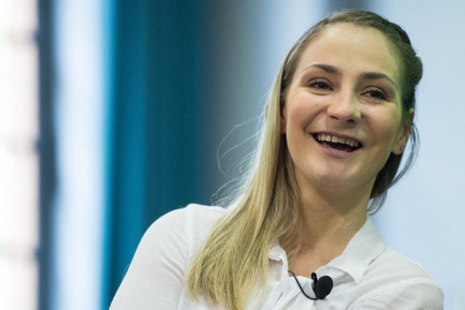 """Kristina Vogel ist mit dem Preis """"Die Beste 2018"""" ausgezeichnet worden."""