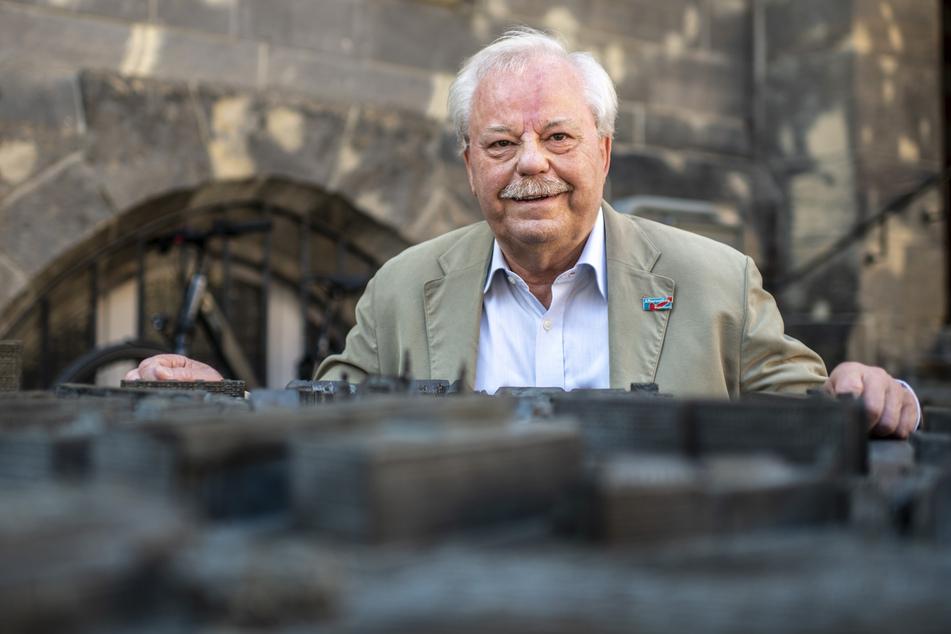 Frank Sänger (66) nimmt den Stuhl von Lars Kuppi im Stadtrat ein.