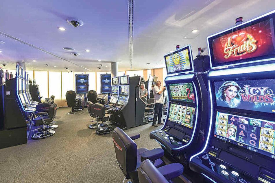 An 97 Automaten kann ab Samstag in der Spielbank Dresden gezockt werden.