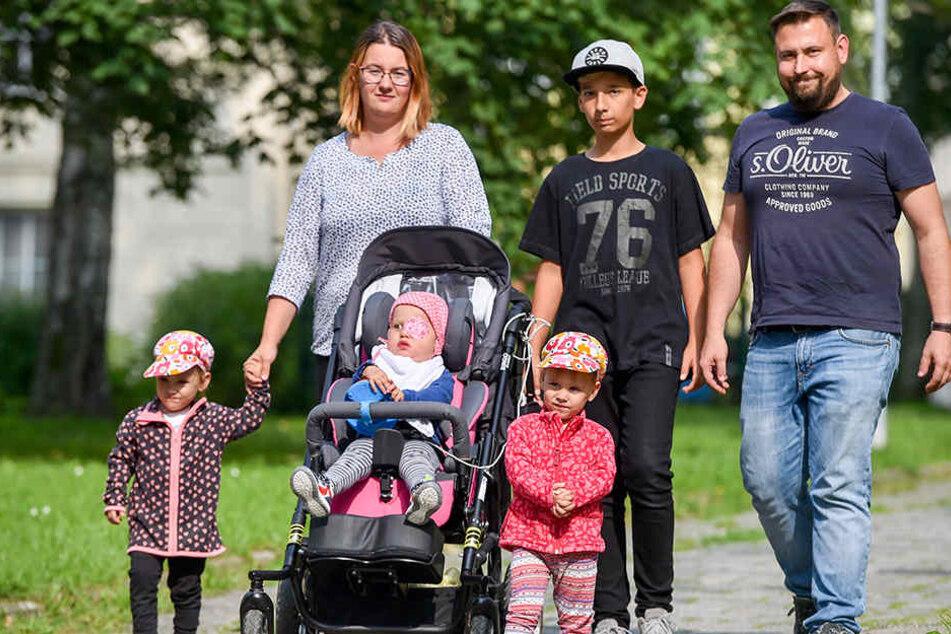 Familie Hengst bangt um die Pflege ihres Sorgenkindes Vanessa (2).