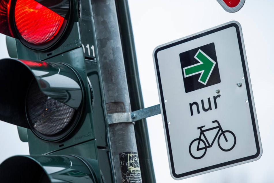 München und Bamberg führen grünen Pfeil nur für Radfahrer ein