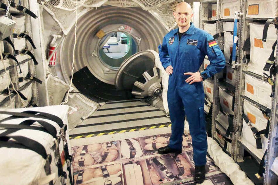 Arbeitet demnächst im Raumanzug: Alexander Gerst.