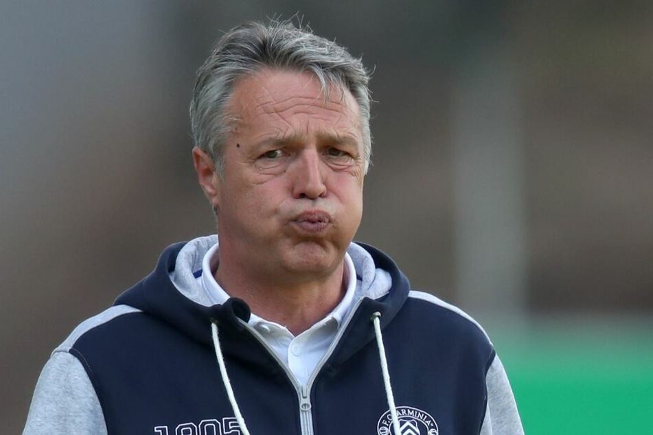 DSC-Coach Uwe Neuhaus war zuletzt nicht mit den Leistungen des Youngstars zufrieden.