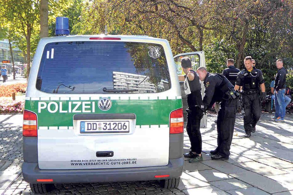 Druck auf Kriminelle in der Innenstadt: Ständige Kontrollen haben viele Täter vertrieben.