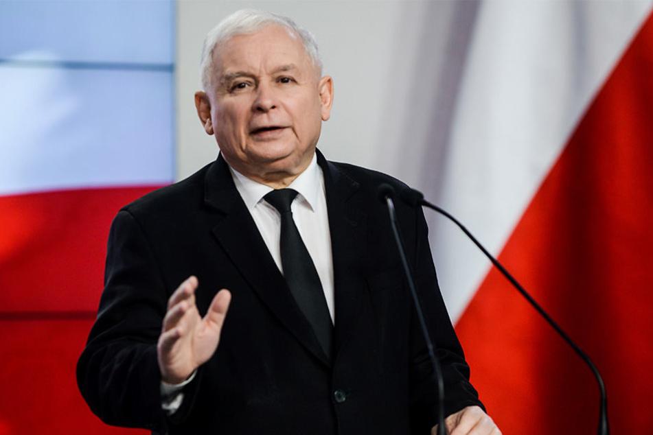 Der Parteivorsitzende der konservativen PiS-Partei, Jaroslaw Kaczynsk.