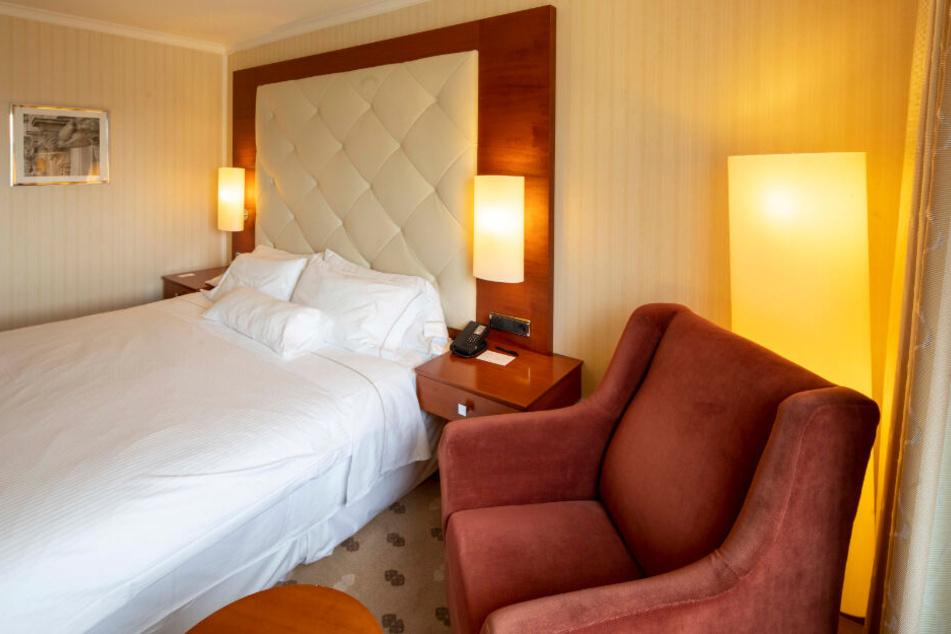 Dieses Zimmer im Hotel Bilderberg wird in Kürze modernisiert.