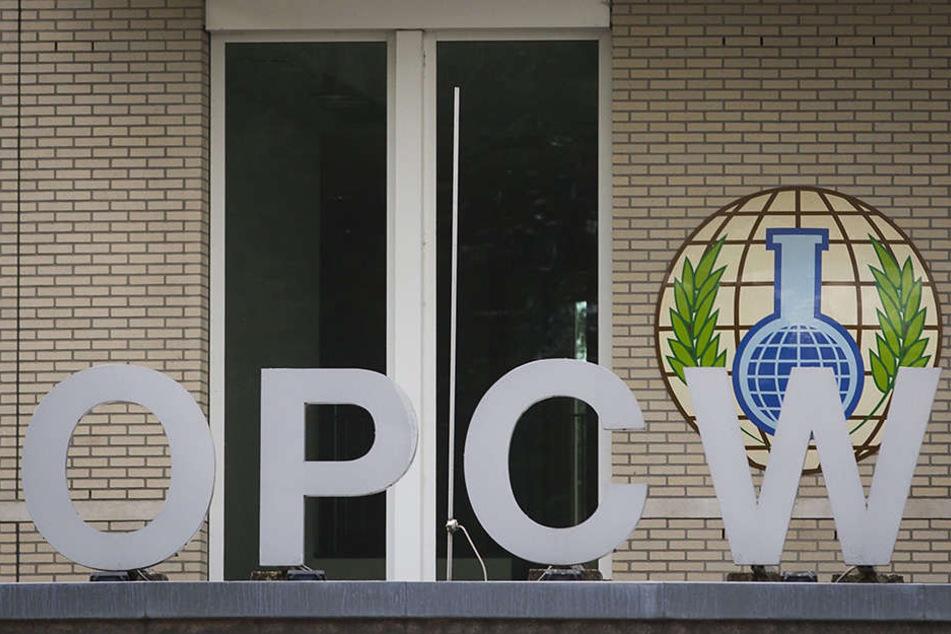 Die Diplomaten trafen sich am Mittwoch in Den Haag am Sitz der Organisation für das Verbot von Chemiewaffen (OPCW).