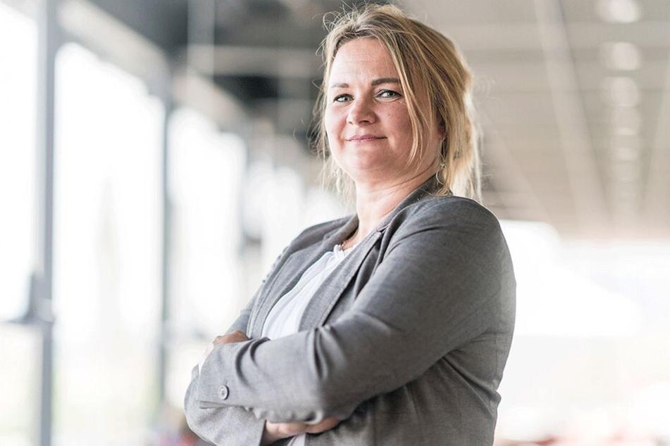 Cathleen Martin (45), designierte Spitzenkandidatin der Freien Wähler.