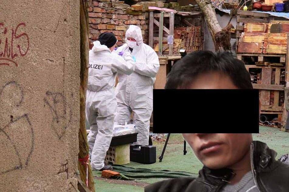 Der mutmaßliche Doppelmörder Dovchin D. (r.) muss sich ab dem 17. November vor dem Landgericht Leipzig verantworten.