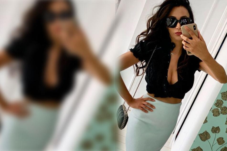 Auf diesem Spiegel-Selfie präsentiert sich Verona Pooth (51) wieder besonders sexy.