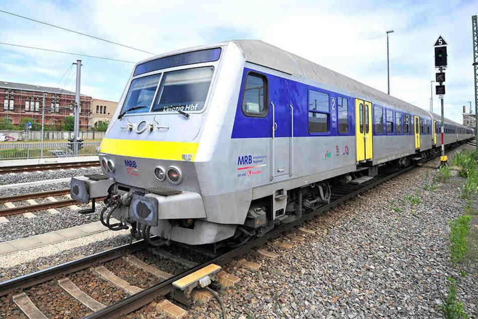 Von Naunhof starten die Schienenersatz-Busse bis Grimma. Dann geht es mit der Bahn weiter. (Symbolbild)