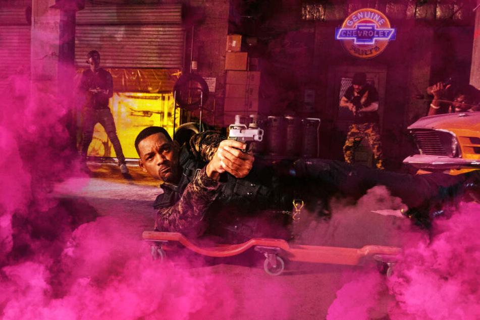 Mike Lowrey (Will Smith) stürzt sich auch weiterhin in eine Schießerei nach der anderen.