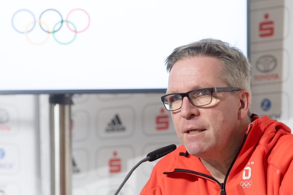 Dirk Schimmelpfennig, DOSB-Vorstand Leistungssport. (Archivbild)