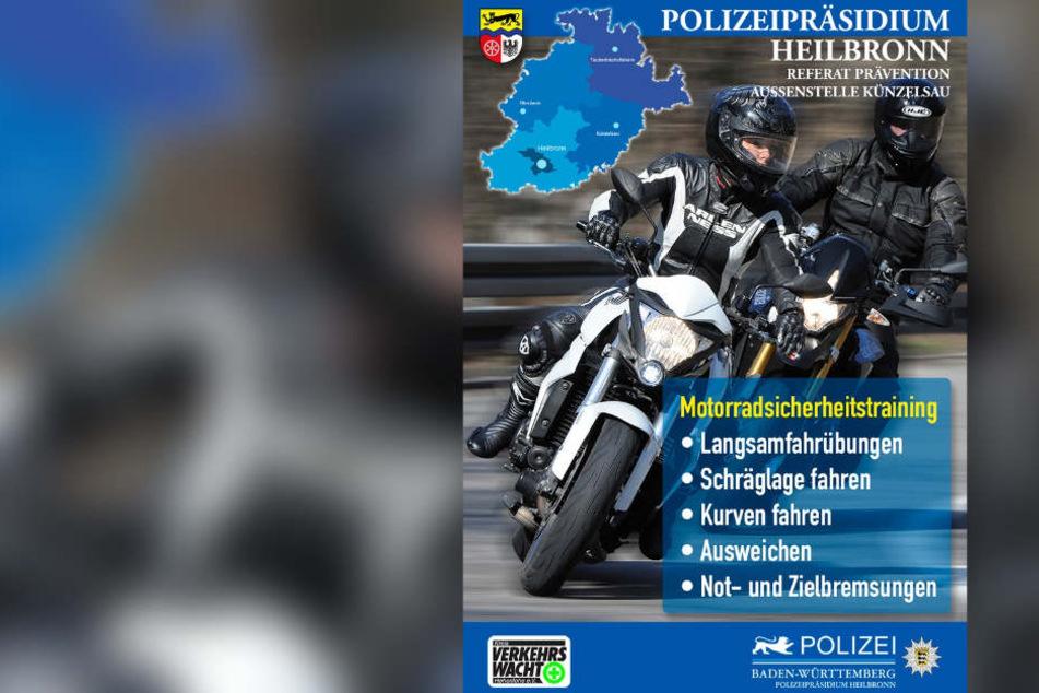 An zwei Wochenenden Mitte und Ende April bieten Polizei und Verkehrswacht die Übungseinheiten an.
