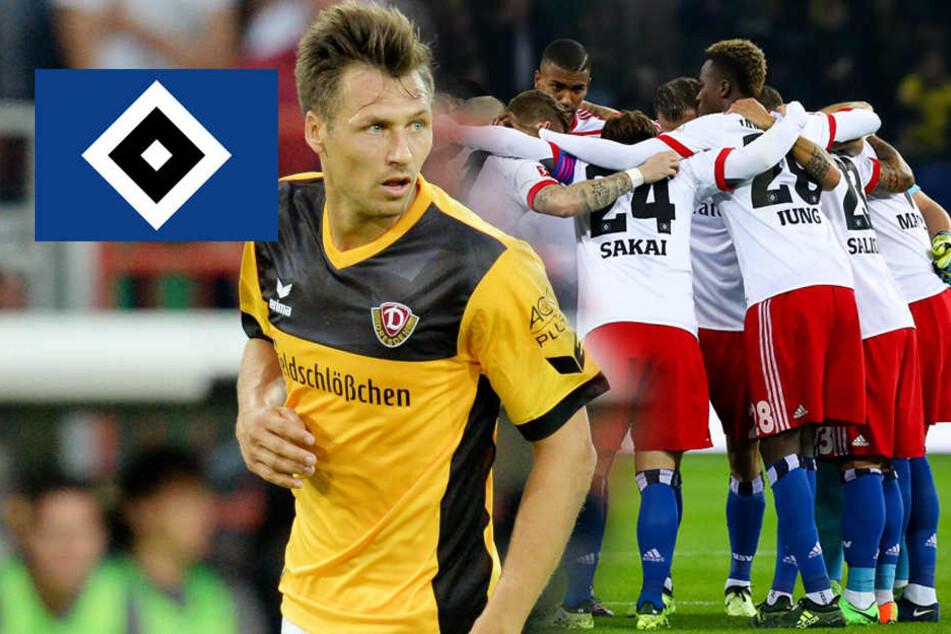 Dynamo-Spieler Sören Gonther wünscht HSV den Abstieg