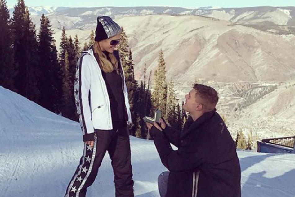 So romantisch war der Antrag, doch jetzt gibt's angeblich Streit um den Ring.