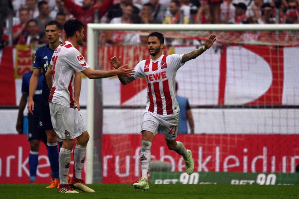 Leonardo Bittencourt traf gegen Schalke zum 1:2.