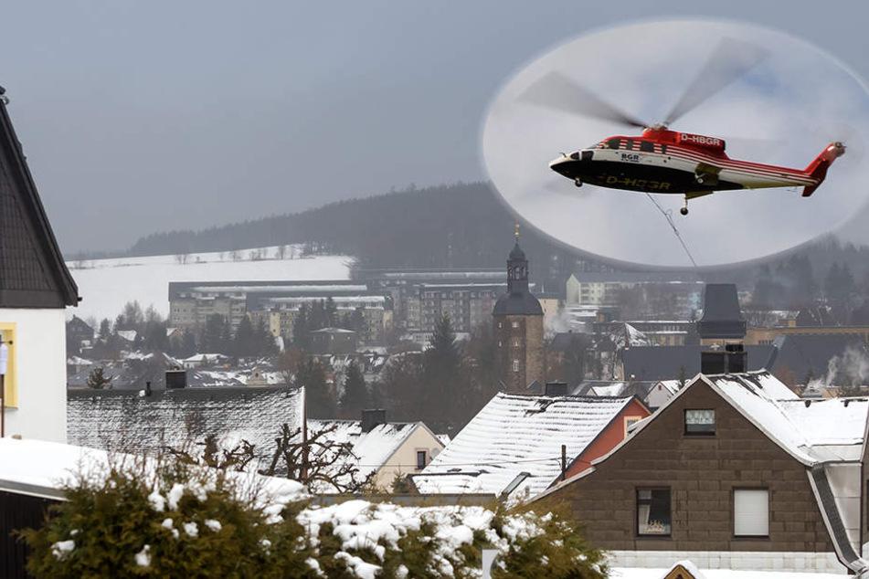 Hier gehen Forscher mit Hubschraubern auf Schatzsuche