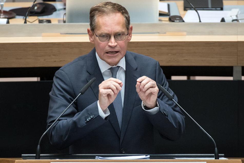Regierender Bürgermeister Michael Müller sagte, dass sich trotz Volksentscheid nichts ändern würde.