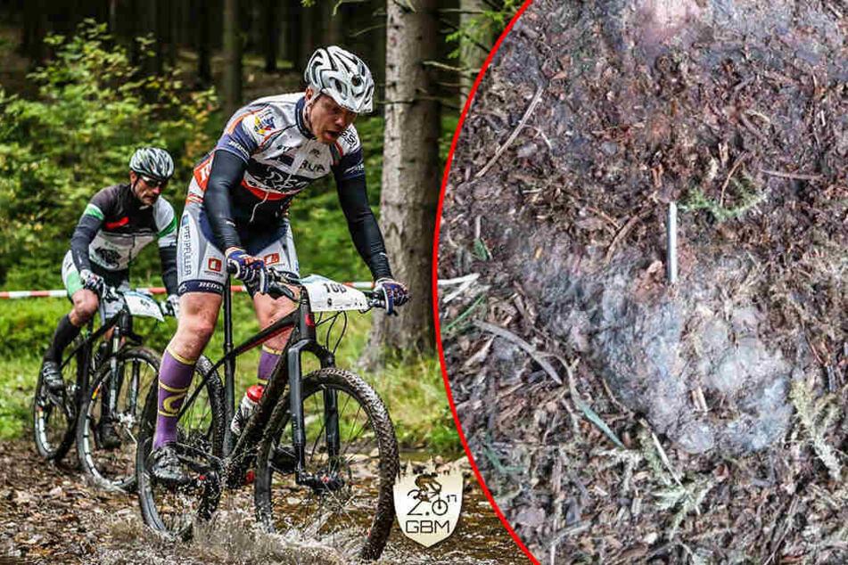 Heimtückische Nagel-Attacke auf Bike-Marathon!