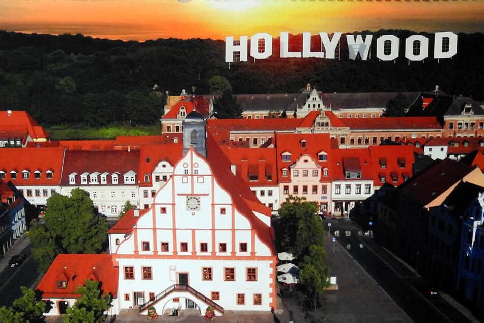 Plötzlich Hollywood: Grimma mogelt sich 2018 zur Weltstadt.