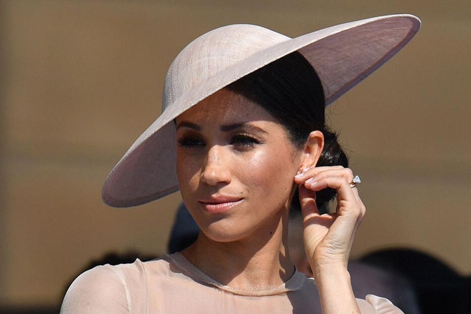 Herzogin Meghan sinkt in der Gunst der Briten immer weiter.
