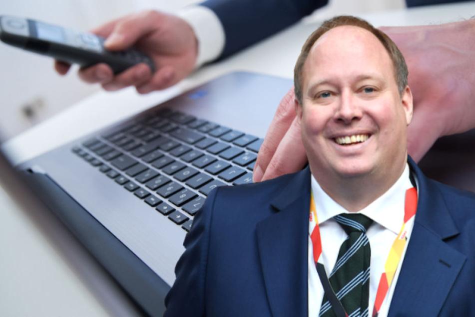Kanzleramtsminister Helge Braun (45, CDU) bringt das digitale Bürgerportal voran.