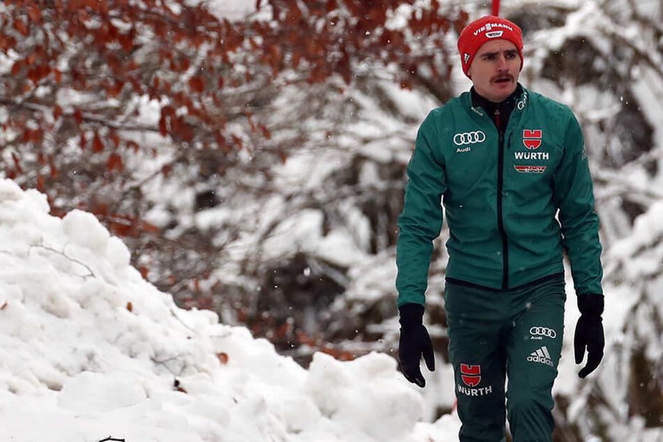 Training statt Wettkampf: Weltcup in Japan ohne Richard Freitag