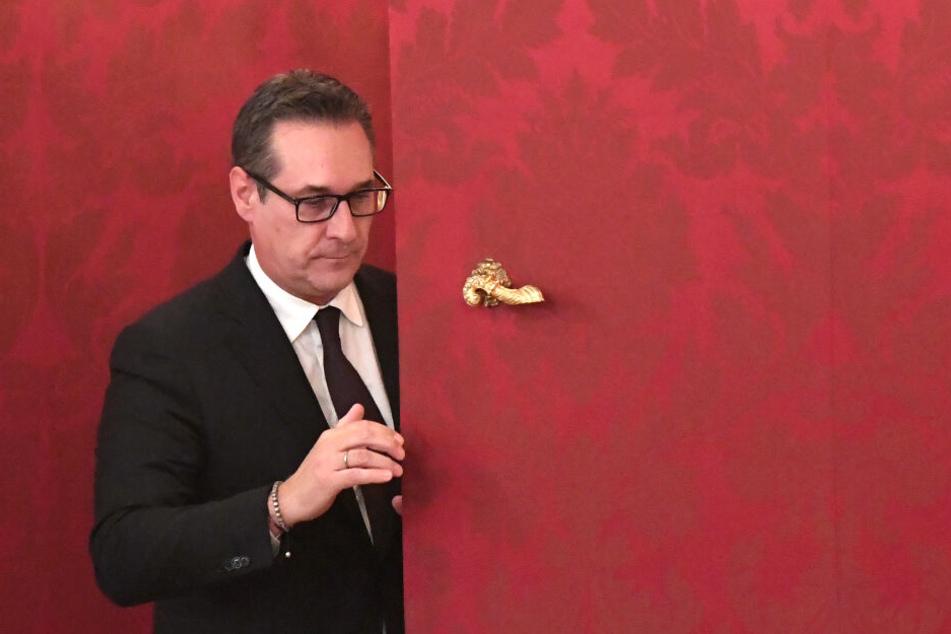 """Heinz-Christian Strache trat nach der Veröffentlichung des """"Ibiza-Videos"""" von seinen politischen Ämtern zurück."""