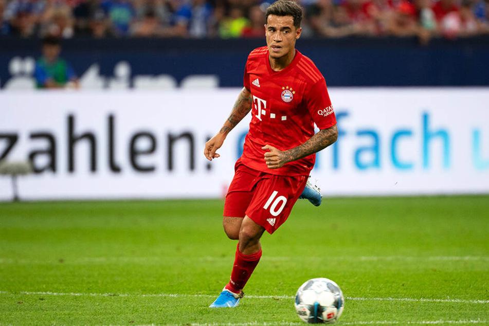 Neuzugang Philippe Coutinho feierte sein Debüt für den FC Bayern München.