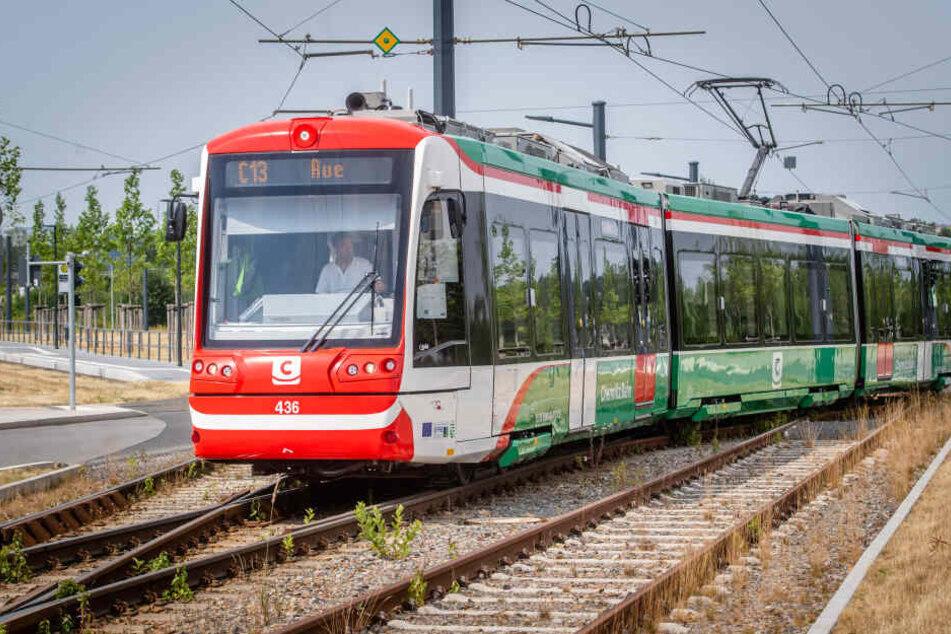 """In knapp einem Monat beginnen die Bauarbeiten der Trasse nach Aue. Ende 2020 sollen die ersten """"Citylinks"""" in die Erzgebirgsstadt rollen."""