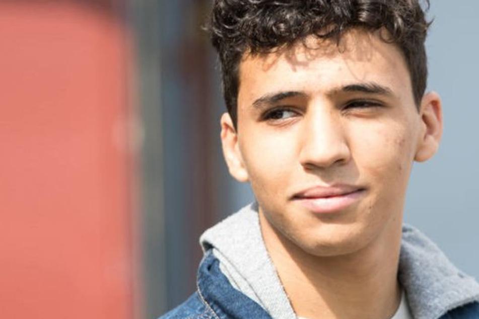 """Mohamed Issa (18) spielte die Figur des """"ersten"""" in der Lindenstraße aufgeschlagenen Flüchtlings."""