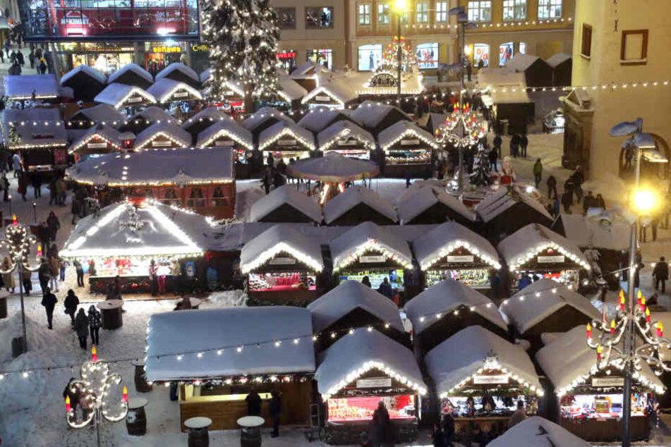 Winterlich weiß war es Mitte Dezember 2012 in Chemnitz.