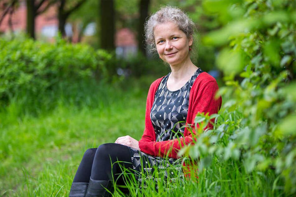 """Die Leipzigerin Julia Cissewski (44) gründete den Verein """"Orang-Utans in Not""""."""
