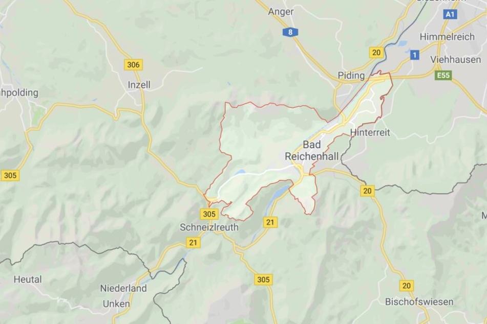 In Bad Reichenhall in Bayern ist es zu einem schweren Unfall mit einem Traktor gekommen.
